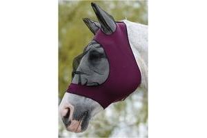 Roma Stretch Eye Saver With Ears Purple/Black Pony