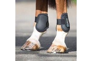 Shires ARMA Fetlock Boots Cob/Full-Black/Black Cob/Full