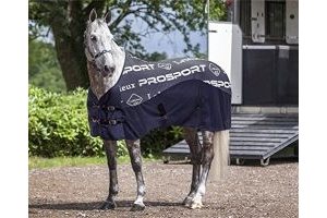 LeMieux Carbon Horse Cooler Rug - Navy Blue: 5ft9