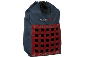 LeMieux Hay Tidy Bag Navy/Red