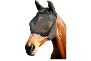 equilibrium Field Relief Midi Fly Mask with Ears - Multi-Colour, Medium