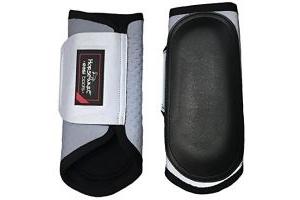 Horseware Ireland Rambo NightRider Boots [Silver/Black] [Full] DBAE60