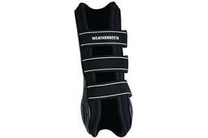 Weatherbeeta Pro Air Open Front Boots (Cob) (Black)
