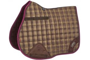 LeMieux Heritage GP Square Saddle Pad Plum