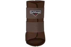 LeMieux Grafter Brushing Boot Brown