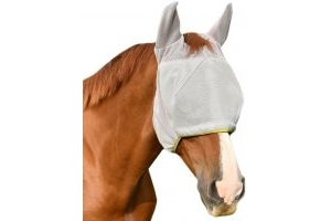 Equilibrium Field Relief Midi Fly Mask With Ears Grey/Yellow