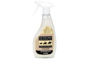 Supreme Products - Detangle and Shine - Horse Pony Mane & Tail Detangler - 500ml