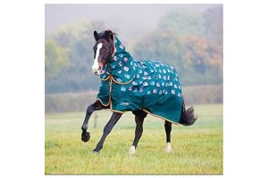 Shires Tempest Original 200 Combo Turnout Rug - Printed-Sheep Print 6'0