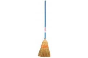 Faulks Corn Broom Blue