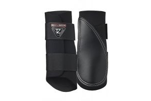 equilibrium Tri-Zone Brushing Boot - Black: Extra Large