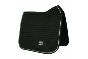 Woof Wear Contour Dressage Saddle Pad Black