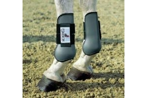 Eskadron Protection Gaiters and Fetlock Boots Set of 4 Size Pony Grey
