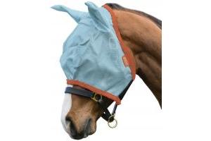 Horseware Amigo Fly Mask Aqua/Orange