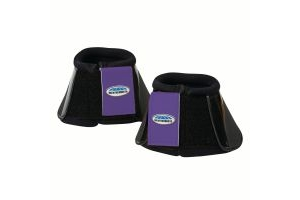 WeatherBeeta Impact Bell Boots Black/Purple Penant