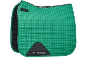 WeatherBeeta Prime Dressage Saddle Pad Emerald