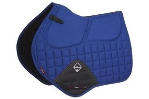 LeMieux Unisex's Pro-Sorb CC Plain Square Benetton Blue Saddle Pad, Large
