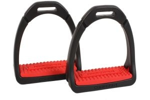 Shires Childs Compositi Premium Profile Stirrup Red