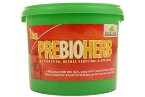 Global Herbs Prebioherb 1kg - Clear, 1Kg