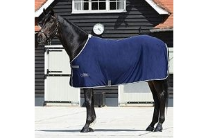 Weatherbeeta Airlite Cooler Standard Neck Rug (5 ft 3) (Navy/Grey/White)