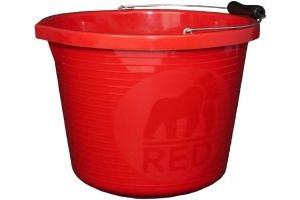 Red Gorilla Premium Bucket Red