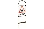 Stubbs Horse Slow Sign Set - Pack of 2