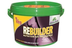 Global Herbs Rebuilder Horse Laminitis Supplement x Size: 1 Kg