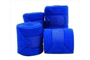 Roma Thick Polo Bandages Set of 4-Bright Blue