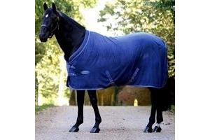 Weatherbeeta Cozi-Dri Standard Neck - Blue/Grey - Size: 6'9
