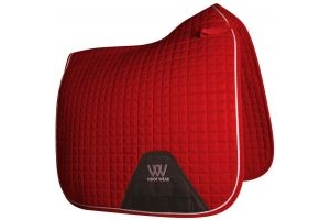Woof Wear Contour Dressage Saddle Pad Royal Red