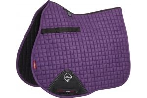 LeMieux ProSport Suede GP/Jump Square Saddle Pad Blackcurrant