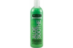 500ml Wahl Showman Aloe Soothe Shampoo. Horse Dog Animal Pet Grooming. Includes Tigerbox Antibacterial Pen.