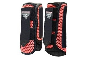 equilibrium Tri-Zone Impact Sports Boot -Flame Red-Large-Front
