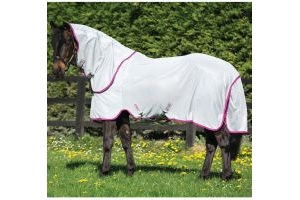 Horseware Amigo Bug Rug Fly Rug Silver/Purple