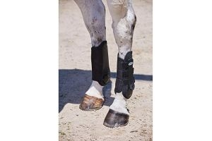 Weatherbeeta Flexi Shell Hind Cross Country Boots (Cob) (Black)