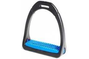 Shires Compositi Premium Profile Stirrups Royal Blue Adult