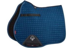 LeMieux ProSport Suede GP/Jump Square Saddle Pad Midnight Blue