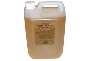 Gold Label Unisex's GLD0023 Cod Liver Oil with Garlic, Clear, 5 Litre