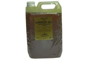 Gold Label Unisex's Herbal Health Linseed Oil, Clear, 5 Litre