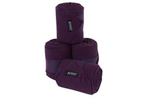 Roma Pack 4 Thick Polo Bandage One Size Purple