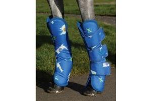 WeatherBeeta Wide Tab Long Travel Boots Llama
