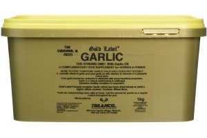 Gold Label Garlic Powder Horse Supplement 3kg