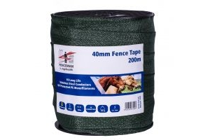 Fenceman Tape Green 40mm/200m