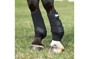Equilibrium Stretch n Flex Flatwork Boots White Size 3/Lrg