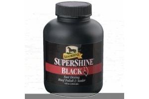 Absorbine Supershine Black Hoof Polish 237ml