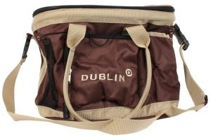 Dublin Imperial Grooming Bag Chocolate/Cream