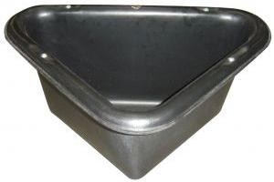 Stubbs Corner Manger S2P  31 Litre: Black