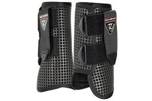 equilibrium Unisex's Tri-Zone All Sport Boots-Black, Large