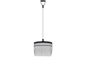 Shires Premium Adults Chip Fork: Silver/Black