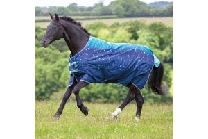 Shires Tempest Limited Edition Original 0g Lightweight Turnout Rug Blue Nebular