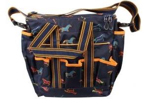 Shires Grooming Bag Horse Print